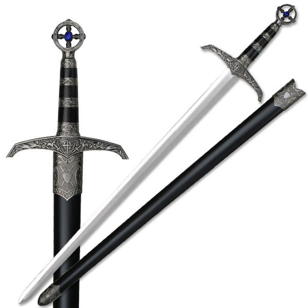 new 37quot heavy medieval great sword long sword robin hood
