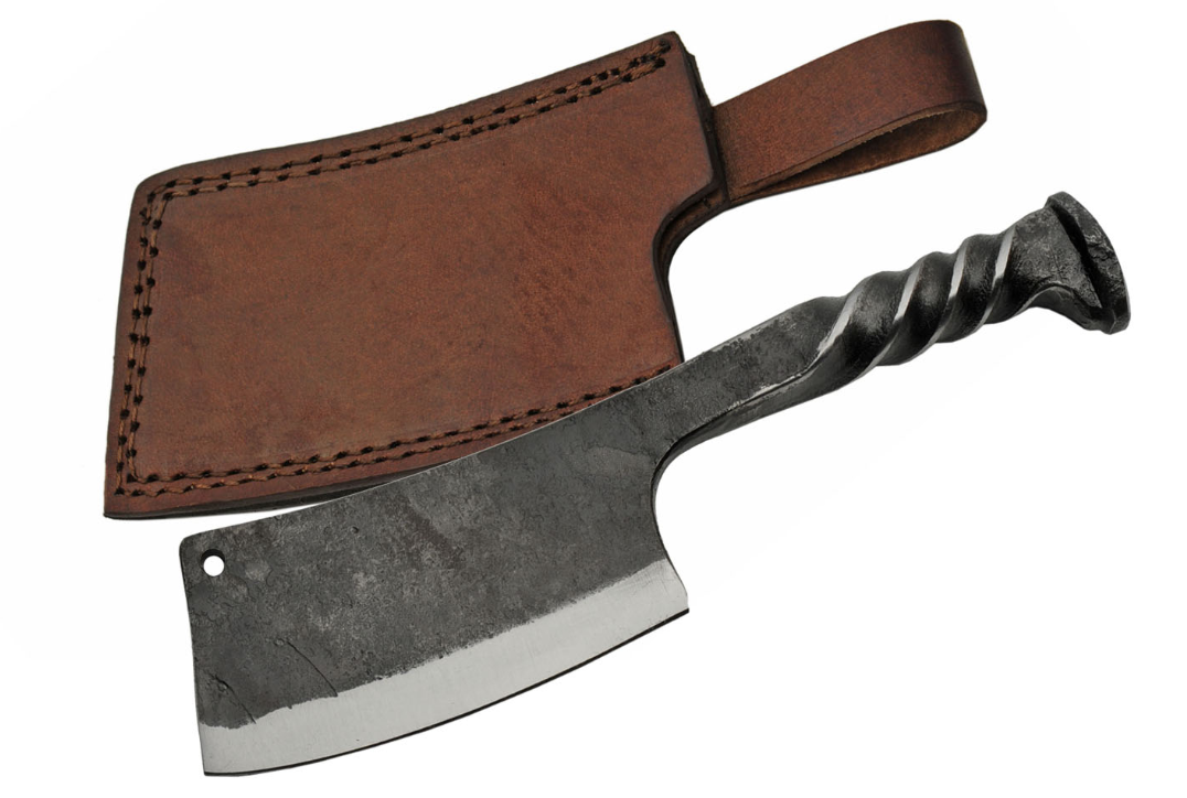 "Fixed Blade Knife | 12"" Overall Dagger Railroad Spike Handle Historical Hs-4416"