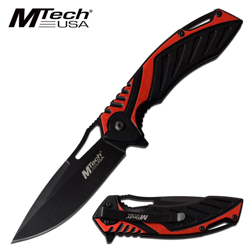 Spring-Assist Folding Knife   Mtech 3.6