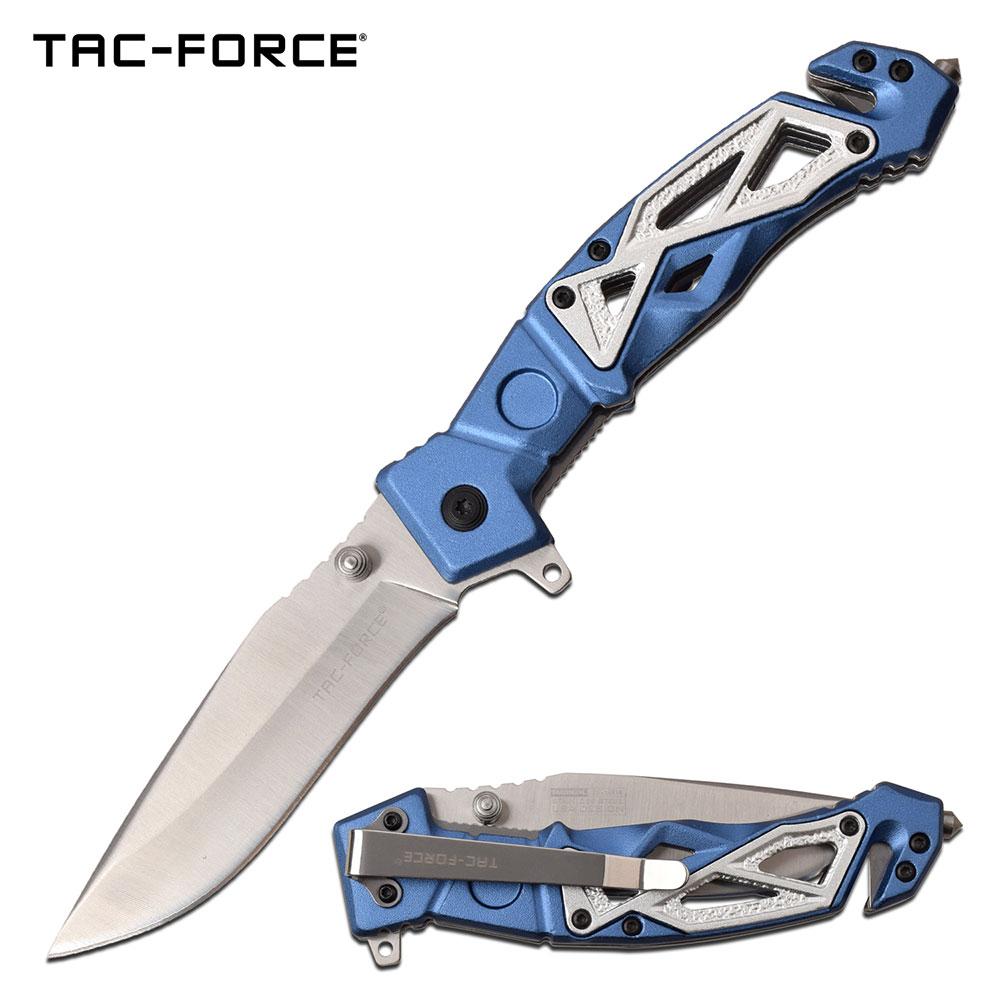 Spring-Assist Folding Knife   Tac-Force 3.75