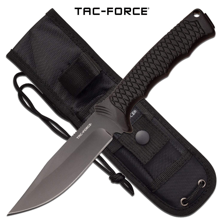Tactical Knife   Tac-Force Black 9.8