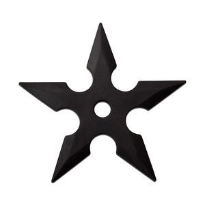 Rubber Throwing Star Set | PRACTICE 3 Piece Martial Arts Ninja Shuriken