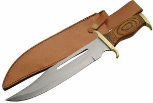 Fixed-Blade Bowie Knife 16