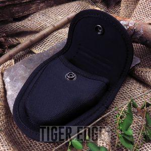HANDCUFF SHEATH | Standard Size Black Hard Boxed Nylon Durable Hand Cuff Case
