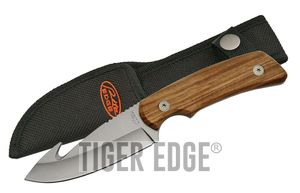 Gut Hook Hunting Knife Stainless Steel Blade 8