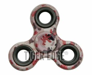 Fidget Spinner | Low-Cost - Stainless Steel Bearings - Red Camo 211423
