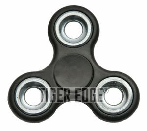 Fidget Spinner | Low-Cost - Stainless Steel Bearings - Black 211421