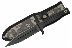 Fixed Blade Knife | Tactical Black 9