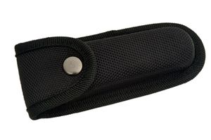 Black Hard Boxed Reinforced Nylon Belt Sheath for 5