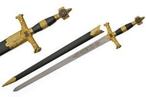 Medieval Sword | Star of David Knight Blade Display Piece 34
