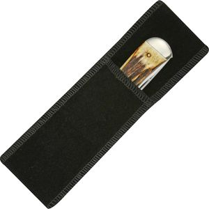 Folding Knife Sheath | Black Velvet Slip Case Pouch For Folders Up To 5