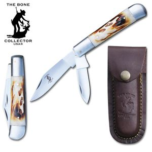 Trapper Folding Pocket Knife | Bone Collector 2 Blade 5
