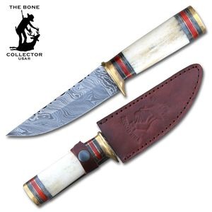 Fixed Blade Knife | Damascus Steel 10