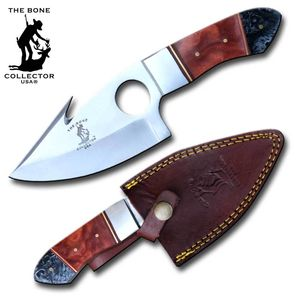 Hunting Knife | Bone Collector Full Tang Gut Hook Skinner Blade 8