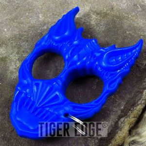 BlueHard Plastic Demon Knuckle Defense Keyring