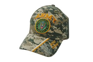 US Army Strong ACU Digital Camo Baseball Cap - One Size Fits All