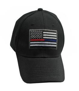 Baseball Cap | Black American Flag U.S. Hat Gift CAP-650A