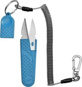 Nipper Scissor Tool | Camillus Blue Handle 4.5
