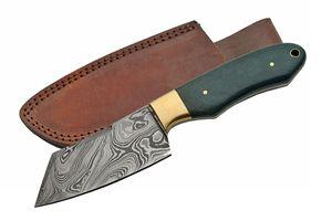 Damascus Steel Hunting Knife | 8.5