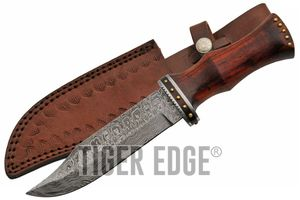 Damascus Steel Hunting Knife | 11