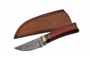 Damascus Steel Hunting Knife | Rite Edge 7