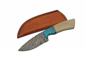 Damascus Steel Blade Hunting Knife | 8