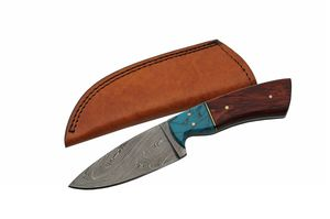 Damascus Steel Blade Hunting Knife | 9