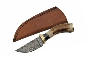 Damascus Steel Hunting Knife Rite Edge 3.25