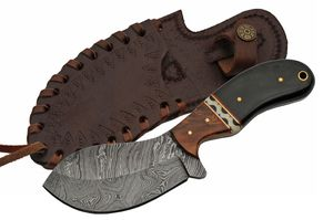 Hunting Knife | Damascus Steel Blade 4