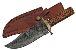 Hunting Knife | Damascus 11.25