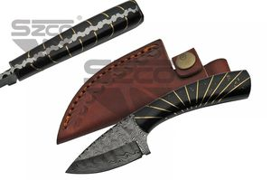Hunting Knife | Damascus 7.25