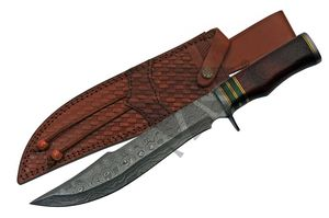 Bowie Knife | Damascus Steel Fantasy Blade 15