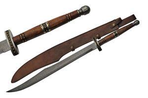 Scimitar Sword | Damascus Steel Blade 36.5