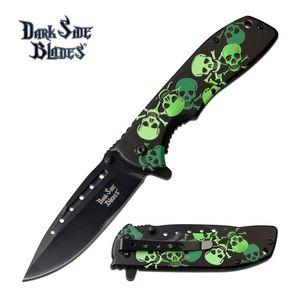 Spring-Assist Folding Knife Black 3.75