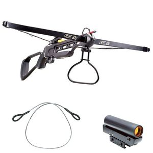 RIFLE CROSSBOW | 150 lb. Draw Weight, 210 FPS + Stringer and Red Dot Sight