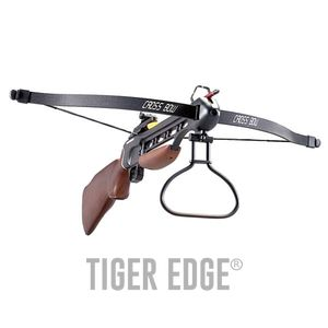 RIFLE CROSSBOW | 150 lb. Draw Weight Wood Stock + 2 Bolts