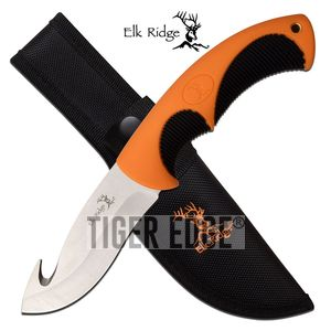 Gut Hook Hunting Knife | Elk Ridge 4