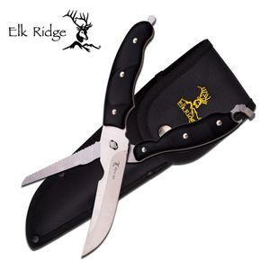 Elk Ridge Hunting Knife Shear Multi-tool Knife Camp Survival Scissors Saw