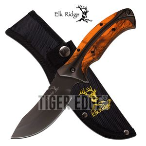 Fixed-Blade Hunting Knife Elk Ridge 8.75