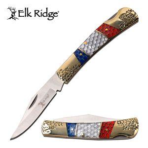 Manual Folding Knife Elk Ridge 2.6