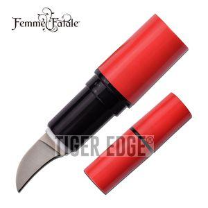 Lipstick Hidden Knife | Femme Fatale Red 2.75