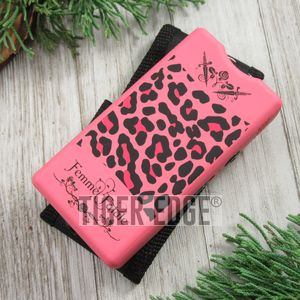 Femme Fatale Pink Leopard Women Girl Lady Stun Gun 3.5 Million Volts W/ Case