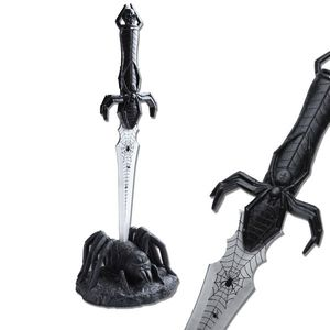 Black Widow Spider Mystical Fantasy Dagger w/ Display Stand