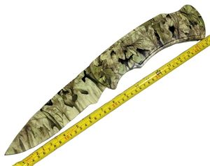 Folding Knife | Jumbo Camo Pocket Folder w/ Stand Gift Display Father's H-4861-G