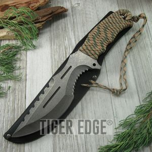 FIXED-BLADE SURVIVAL KNIFE | 12