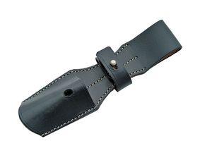 Black Sword Frog Large Dagger Holder Belt Attachment Reenactment Cosplay