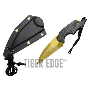 Fixed-Blade Neck Knife Wartech 3