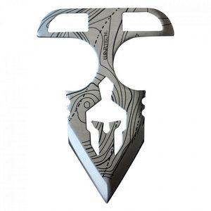 Tactical Push Dagger | Silver 4.75