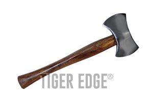Hatchet | Double Blade Carbon Steel Wood Handle 14