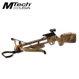 RIFLE CROSSBOW | 150 lb. Draw Weight Camo Hunter + 2 Bolts
